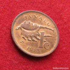 Monedas antiguas de Oceanía: TUVALU 1 CENT 1985. Lote 289767893