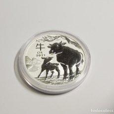 Monedas antiguas de Oceanía: 1 DOLAR DE PLATA DE AUSTRALIA DEL AÑO 2021.1 ONZA DE PLATA DE LEY 9999.PROOF. Lote 290702828