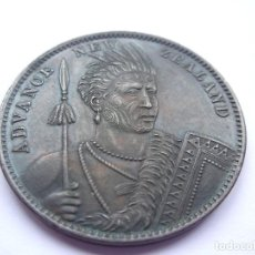 Monedas antiguas de Oceanía: 29SCL17 NEW ZEALAND MILNER & THOMPSON, CHRISTCHURCH 1881 ONE PENNY TOKEN KM# TN49. Lote 290816678