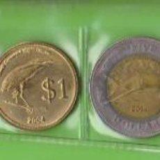Monedas antiguas de Oceanía: MONEDAS EXTRANJERAS - COCOS (KEELING) ISLANDS - 7 VALORES, 5-10-20-50 CTS. 1-2-5 DOLARES 2004 (SC-). Lote 293767463