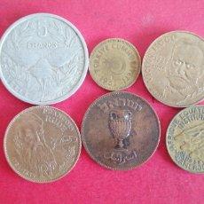 Monedas antiguas de Oceanía: LOTE DE 6 MONEDAS EXTRANJERAS. Lote 293808883