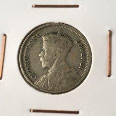 Monedas antiguas de Oceanía: NUEVA ZELANDA 6 PENCE DE PLATA DE 1933. Lote 294006943