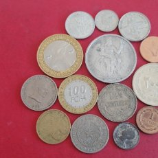 Monedas antiguas de Oceanía: LOTE DE 14 MONEDAS EXTRANJERAS. Lote 294821148
