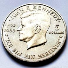 Monedas antiguas de Oceanía: ⚜️ CONMEMORATIVA SIN CIRCULAR. 80.000 EJEMPLARES. 5 DOLLARS 1988. NIUE. AF666. Lote 295340058