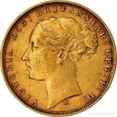 Monedas antiguas de Oceanía: [#898769] MONEDA, AUSTRALIA, VICTORIA, SOVEREIGN, 1879, MELBOURNE, MBC, ORO, KM:7. Lote 295393923