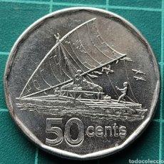 Monedas antiguas de Oceanía: FIJI 50 CENTS 2009. Lote 295481003