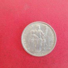 Monedas antiguas de Oceanía: 2 FRANCOS DE NUEVA CALEDONIA 1982. Lote 295622698