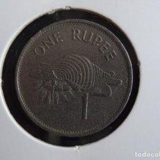 Monedas antiguas de Oceanía: SEYCHELLES 1 RUPIA 1992. Lote 295973863
