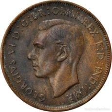 Monedas antiguas de Oceanía: [#839974] MONEDA, AUSTRALIA, GEORGE VI, PENNY, 1944, MBC, BRONCE, KM:36. Lote 296555593