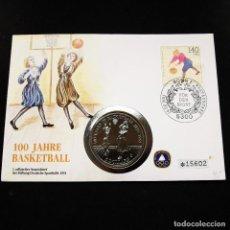 Monedas antiguas de Oceanía: ⚜️ A2205. CONMEMORATIVA, EDICIÓN NUMERADA. 5 DOLLARS 1991. NIUE. Lote 296573703