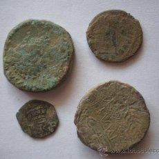 Monedas antiguas: CUATRO MONEDAS A CATALOGAR. Lote 25326838