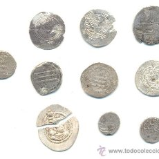 Monedas antiguas: 000- BARATO LOTE DE DIEZ MONEDAS DE PLATA A CLASIFICAR.. Lote 37193926