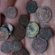 Monedas antiguas: INTERESANTE GRAN LOTE DE 16 MONEDAS MUY ANTIGUAS A CATALOGAR. Lote 81871906