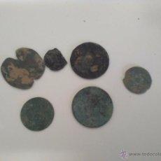 Monedas antiguas: LOTE DE MONEDAS MUY ANTIGUAS SIN IDENTIFICAR. Lote 49282293