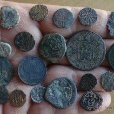Monedas antiguas: INTERESANTE Y BONITO LOTE DE MONEDAS VARIADAS,DINERILLOS,RESELLOS...PARA CATALOGAR, ENTRETENER.... Lote 49520689