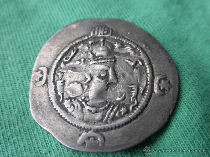 Monedas antiguas: MONEDA SASÁNIDA, DRACMA DE PLATA - PERSIA 200 DC. - Foto 4 - 54719023