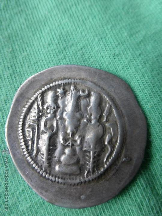 Monedas antiguas: MONEDA SASÁNIDA, DRACMA DE PLATA - PERSIA 200 DC. - Foto 6 - 54719023
