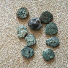 Monedas antiguas: LOTE DE 9 MONEDAS. PUEDEN SER EBUSSUS.. Lote 92742229
