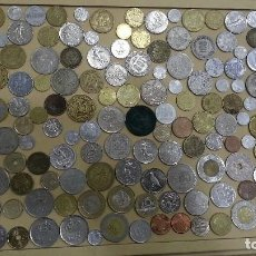 Monedas antiguas: LOTE DE 137 MONEDAS DEL MUNDO MONEDAS MUNDIALES MIXTO AMERICA EUROPA ASIA AFRICA. Lote 95377415