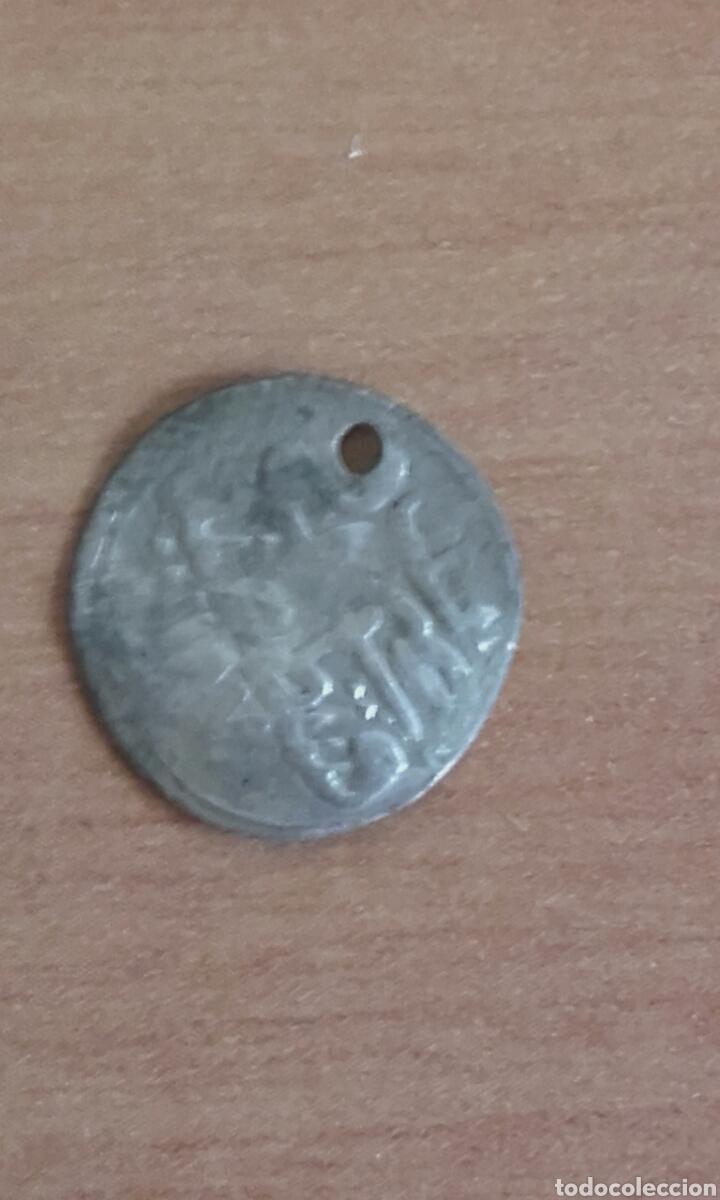 Monedas antiguas: VER 78 IMPERIO OTOMANO ARABE LEYENDA MEDIAVAL MONEDA EN PLATA ACUÑADA A MARTILLO MEDIDAS SOBRE 11 - Foto 5 - 97231691