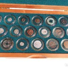 Monedas antiguas: COLECCIÓN DE 20 MONEDAS ORIGINALES CON CERTIFICADO DE AUTENTICIDAD - TESTIGOS DE LA HISTORIA . Lote 103944207