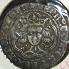 Monedas antiguas: GROAT ENRIQUE VI INGLATERRA-GROAT HENRY VI 1422-1461-MONEDA MEDIEVAL EXCELENTE CONSERVACION-MUY RARA. Lote 107147550