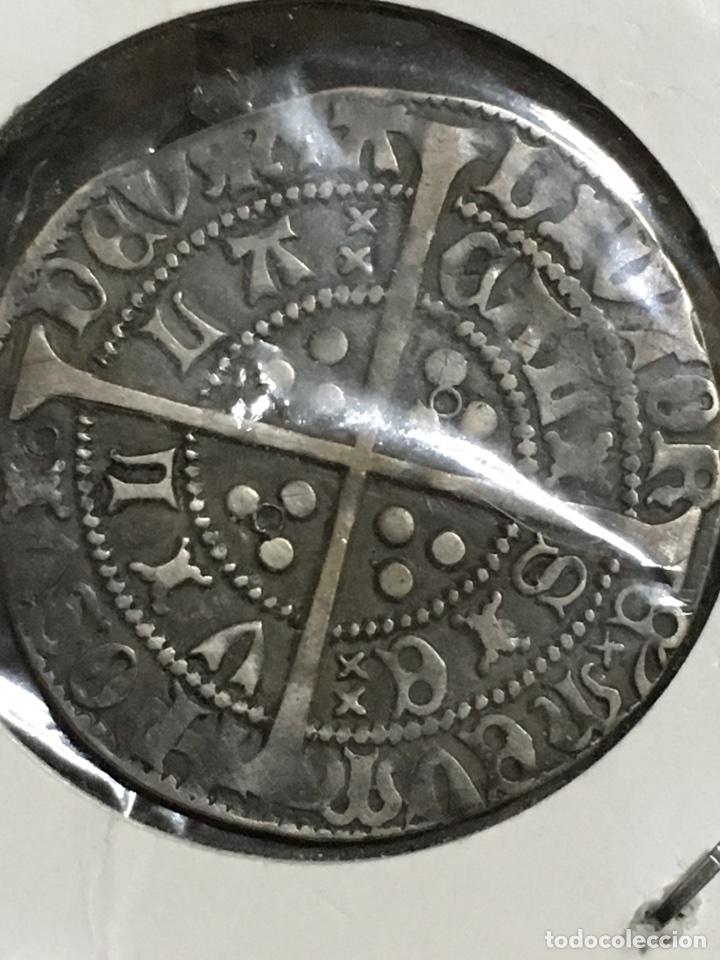 Monedas antiguas: GROAT ENRIQUE VI INGLATERRA-GROAT HENRY VI 1422-1461-MONEDA MEDIEVAL EXCELENTE CONSERVACION-MUY RARA - Foto 2 - 107147550