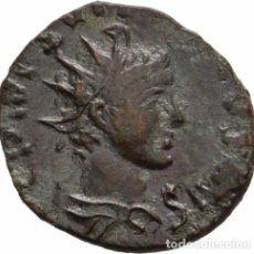 Monedas antiguas: EL IMPERIO GALO! EBC! TETRICUS II. (272-274)! AE! CECA: GALIA! RARA! ANTONINIANO! 16MM 1,5GR . Lote 107237855