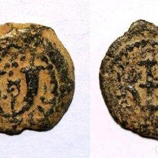 Monedas antiguas: PRUTAH . JUDEA. HERODES EL GRANDE (40 AC). JERUSALÉN. BRONCE.. Lote 139594270