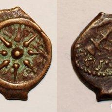 Monedas antiguas: WIDOW'S MITE ANCIENT BIBLICAL JERUSALEM ALEXANDER JANNAEUS. JUDEA AÑO: 104- 76 AC. PRUTAH. BRONCE. Lote 139594314