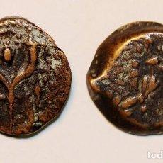 Monedas antiguas: WIDOW'S MITE ANCIENT BIBLICAL JERUSALEM JOHN HYRCANUS I AÑO: 134-104 AC. PRUTAH. BRONCE. Lote 139674070