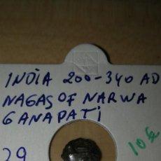 Monedas antiguas: INDIA 200 - 340 A.D.. Lote 141945134