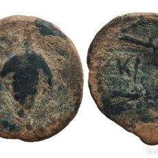 Monedas antiguas: SEMIS DE ACINIPO, RONDA (MALAGA) - 23 MM / 6,59 GR. Lote 147362210