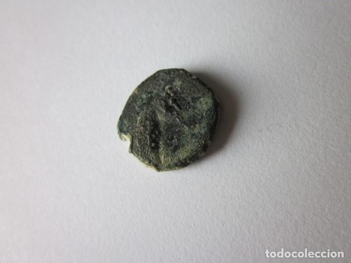 Monedas antiguas: Hemicalco cartagonova. Cabeza de caballo. - Foto 2 - 151815122