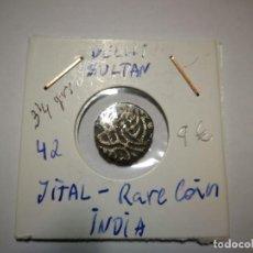 Monedas antiguas: DELHI SULTAN INDIA. Lote 151906742