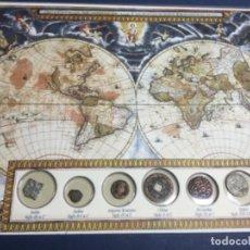 Monedas antiguas: COLECCIÓN 6 MONEDAS DE CIVILIZACIONES DESAPARECIDAS CON CERTIFICADO DE AUTENTICIDAD . Lote 156776262
