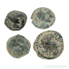 Monedas antiguas: LOTE DE 4 MONEDAS IBÉRICAS.. Lote 160057342