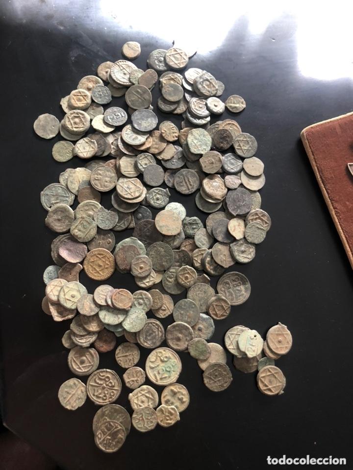 LOTE DE 200 MONEDAS RARAS Y VARIADAS ANTIGUAS ORIGINALES- VER LAS FOTOS (Numismática - Periodo Antiguo - Otras)