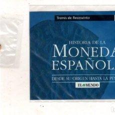 Monedas antiguas: HISTORIA DE LA MONEDA ESPAÑOLA. EL MUNDO. TREMIS DE RECESVINTO.. Lote 196599470