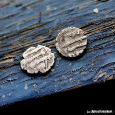 Monedas antiguas: LOTE 2 MONEDAS ARABE , PLATA A IDENTIFICAR . Lote 198806107