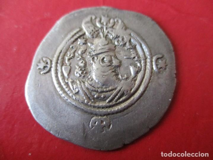 IMPERIO SASANIDA. DRACMA DE PLATA. HORMIZD III. 457/459. #MN (Numismática - Periodo Antiguo - Otras)
