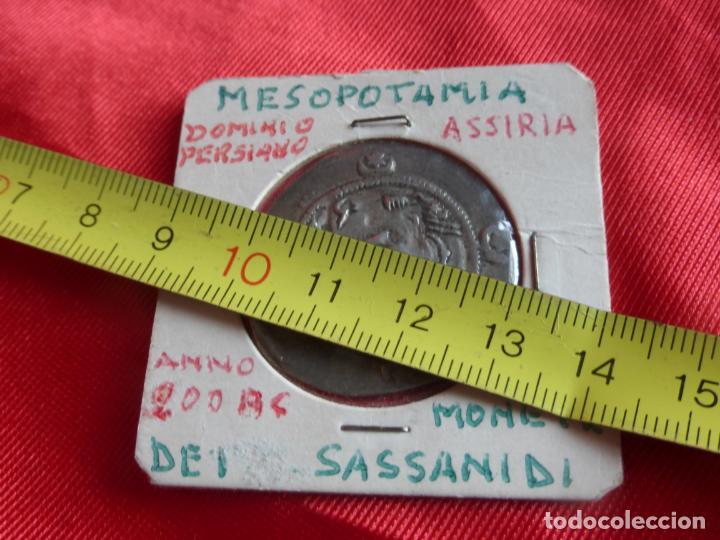 Monedas antiguas: MONEDA DRACMA SASÁNIDA (años 590 y 628) Khosro II o Cosroes II. PLATA . BUENA CONSERVACIÓN - PERSIA - Foto 2 - 201586660