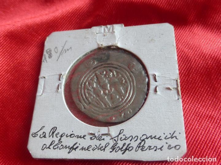 Monedas antiguas: MONEDA DRACMA SASÁNIDA (años 590 y 628) Khosro II o Cosroes II. PLATA . BUENA CONSERVACIÓN - PERSIA - Foto 2 - 201586755