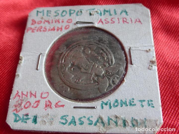 Monedas antiguas: MONEDA DRACMA SASÁNIDA (años 590 y 628) Khosro II o Cosroes II. PLATA . BUENA CONSERVACIÓN - PERSIA - Foto 3 - 201586755
