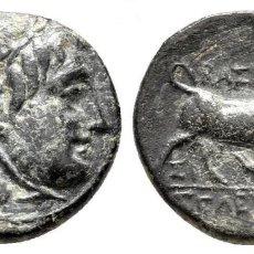 Monedas antiguas: IMPERIO SELEUCIDA. SARDEIS. SELEUKOS I NIKATOR 312-281 A.C. BRONCE Æ 14MM., 2,33G. EBC. Lote 203492905