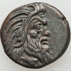 Monedas antiguas: BÓSFORO. PANTIKAPAION. AE (20MM, 6.99 GM).(310-303 A.C.). EBC+. Lote 203540230