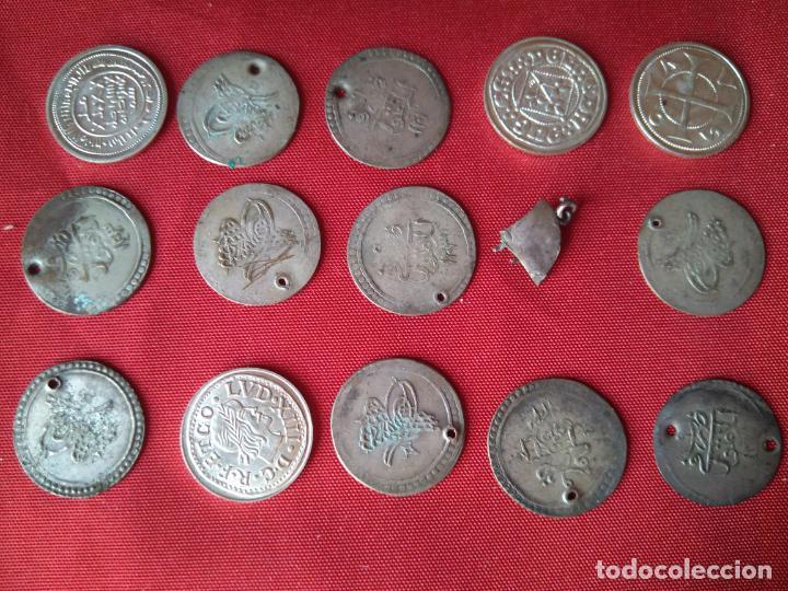 LOTE DE ANTIGUAS MONEDAS EN PLATA (Numismática - Periodo Antiguo - Otras)