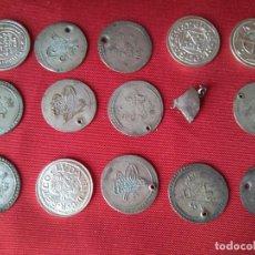 Monedas antiguas: LOTE DE ANTIGUAS MONEDAS EN PLATA. Lote 204348306