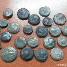 Monedas antiguas: LOTAZO DE 23 MONEDAS DEL REINO NABATEO -REYES DE PETRA-JORDANIA ACUÑADAS ENTRE EL 100 A.C Y 100 D.C. Lote 204769452