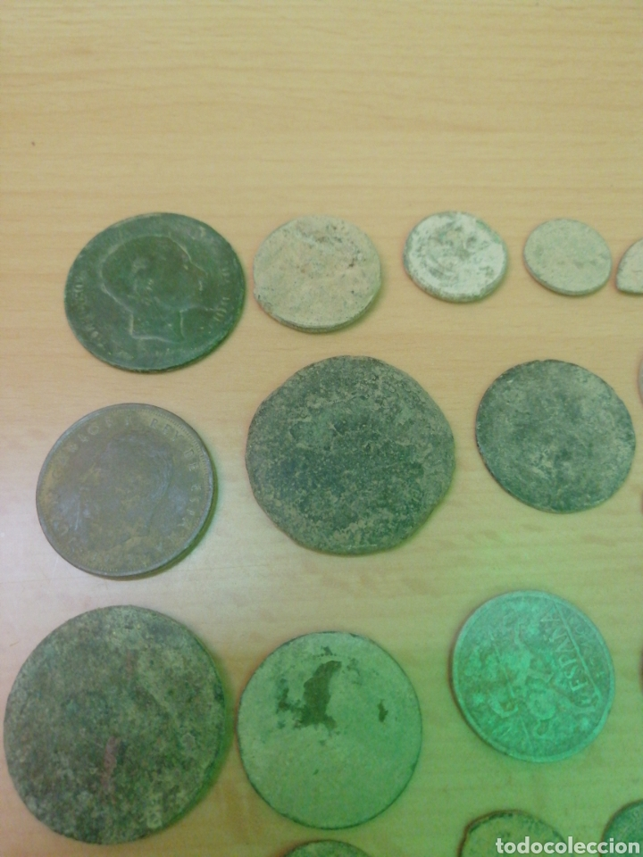 Monedas antiguas: LOTE DE 53 MONEDAS VARIADAS - Foto 2 - 205069673